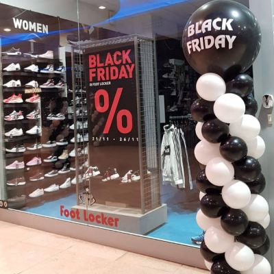 Totem di Palloncini per il Black Friday